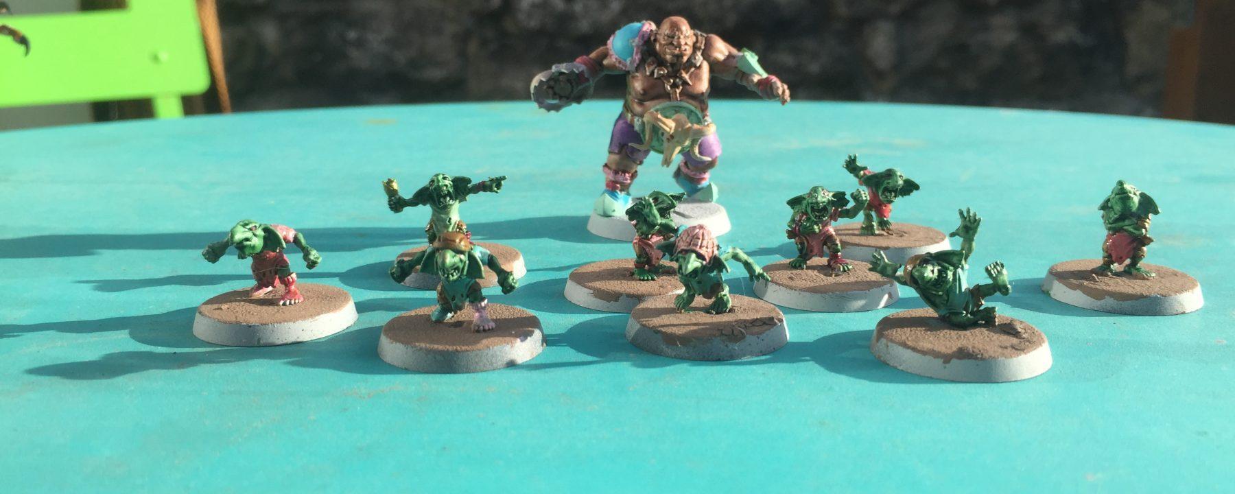 Equipe Ogres Blood Bowl par Tom