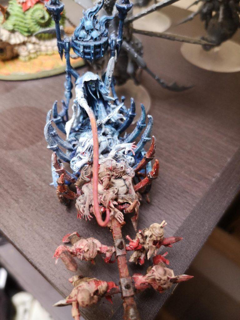 Corpse cart avec brasero infernal par Bertrand